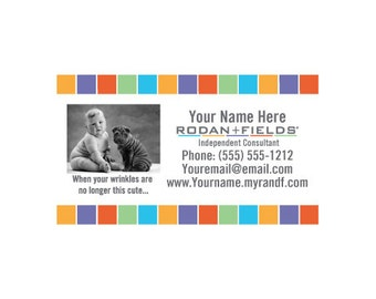 Rodan Fields DIY Business Card Template - Rodan and fields business card template