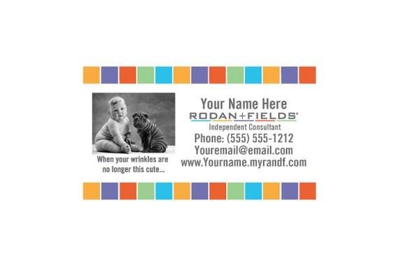 Rodan Fields DIY Cute Business Cards