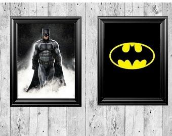 dc batman picture frame decor 11x14 frames