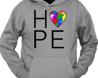 Hope Love Autism Hoodie