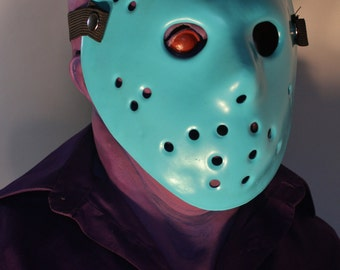 8-bit Jason Voorhees Mask, NES Friday the 13th, plus GLOW Hockey mask