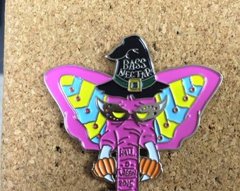 Bassnectar Halloween 2015 Pin *Free Shipping*