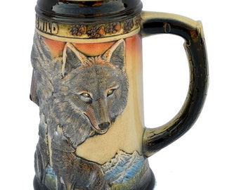Call of the Wild Beer Stein