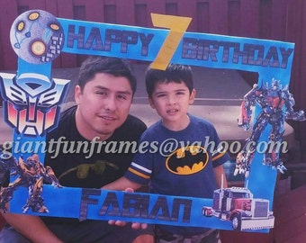 Transformers Frame / Photo Booth / Photo Prop Digital File