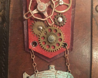 Steampunk Airship Engineer's Military Medal