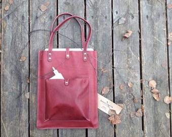 Shoulder Leather Bag for laptop MacBook PRO 13'