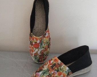 espadrilles from Fraggle Rock