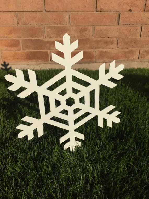 snowflake 08 metal yard art christmas lawn decoration. Black Bedroom Furniture Sets. Home Design Ideas