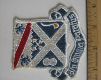 Vintage 18th Infantry Regiment Uniform Service Patch