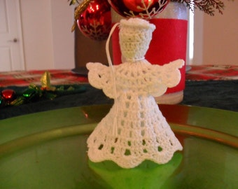 White Angel Ornament