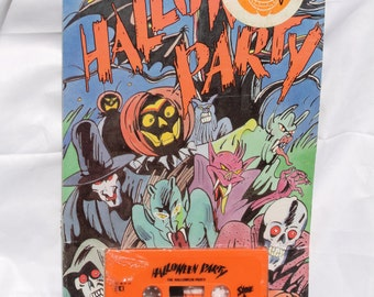 Vintage Halloween Party Cassette Eerie Sound Effects Rare 1987 New Sealed