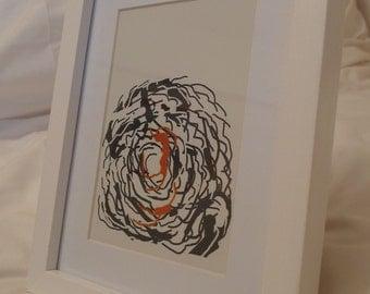 Digital Drawing - Framed Print #11