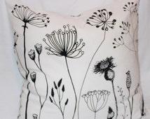"Wild Flower Pillow Cover - 26"" x 26"""