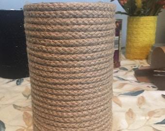 Handmade Nautical Wrap Jar