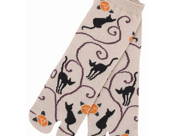 Japanese Tabi Socks - Cats