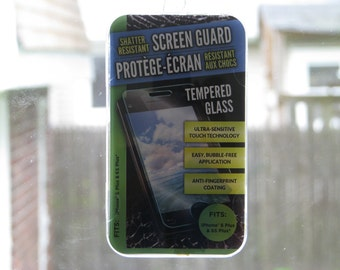 New Tempered Glass Screen Protector For iPhone 6 Plus & 6S Plus