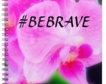 Bebrave flower notebook