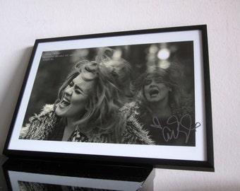 Adele - Hello - ArtWork - signed - Smash Hit - Fine Art Print