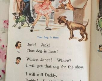 """Vintage 1949 """"The Big Show"""" Child's Reader"""