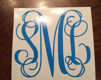 3 Letter Monogram