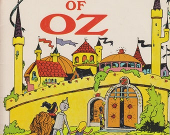 The Wizard of Oz  (includes 33 1/3 record) (Educational Reading Service)