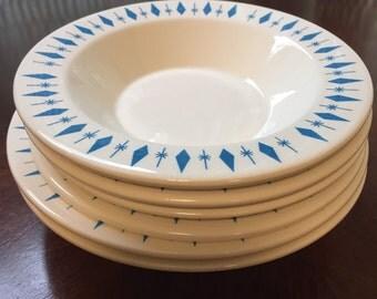 Marcrest NEST Stone Diamond Carousel bowls - 2 sizes