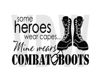 Combat Boots, Army svg, SVG, DXF, EPS cutting files Silhouette Studio Cricut Design space Military, Boots