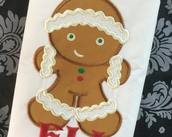 Gingerbread Boy Christmas Shirt