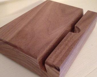 Handmade Reclaimed Wood iPad Stand
