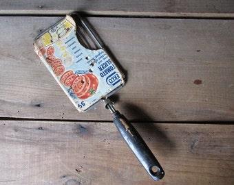 Vintage Tomato Slicer Ekco Black Wood Handle