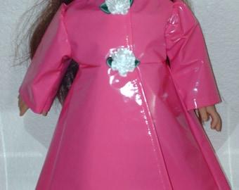 Let it rain! American girl full length raincoat.