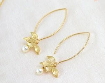 Bride-juliette-Bridal earrings earring Orchid-Bridesmaids earrings-Bridal jewelry-earrings jewelry Orchid married