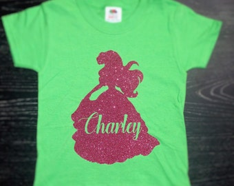 Disney Inspired Personalized Princess Ariel Shirt for Women & Girls / Princess Ariel Shirt / Disney Ariel Shirt for Girls