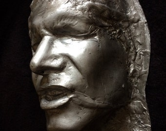Han Solo in Carbonite face cast