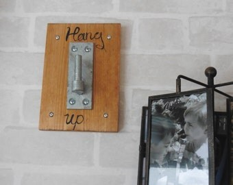 Rustic Hang-up Coat Hook