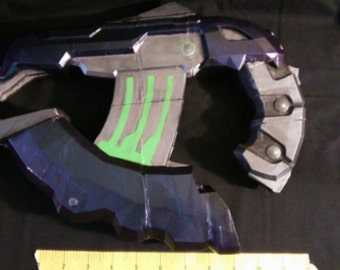 3D printed Halo 4 plasma pistol with LED lighting