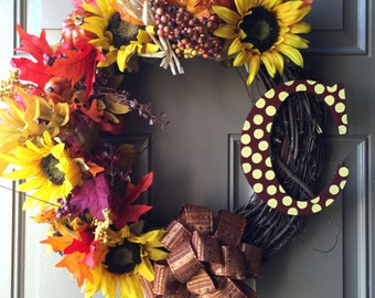 Pumpkin Patch Wreath