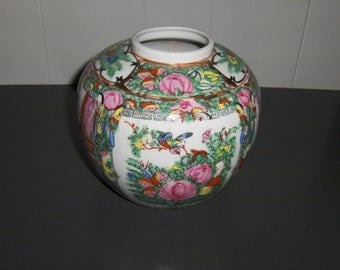 Japanese Porcelain Ware Decorated in Hong Kong A.C.F. Vase