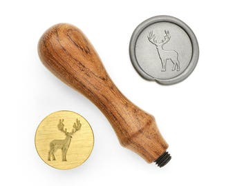 Deer Shape - Design OD Wax Seal Stamp (DODWS0306)