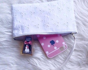 Make up bag, pencil case, zipper pouch