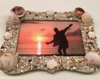 4x6 Seashell Picture Frame
