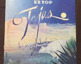 Tejas, ZZ Top, London Records, PS 680, 1976, Vintage Vinyl Record