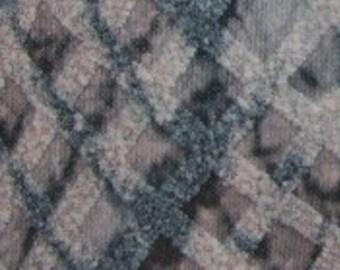 Beige 1.2mm Snakeskin Pu Leather Fabric Sheet 20cm X 30cm