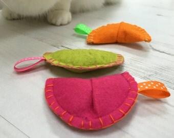 Catnip Fortune Cookies, catnip toy