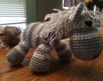 Zebra Crochet Animal