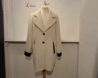 Karl Lagerfeld Alpaca Coat