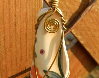 Pottery Necklace #148
