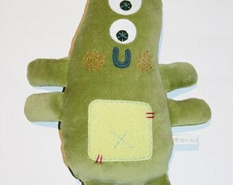 Decorativ doudou cuty monster