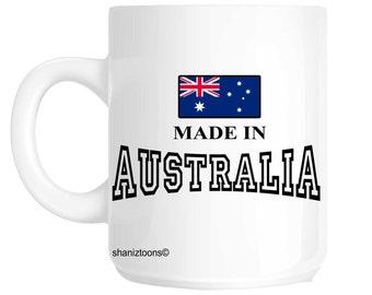 Made In Australia Novelty Gift Mug SHAN565