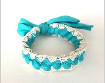 Crochet Friendship Bracelet | Turquoise